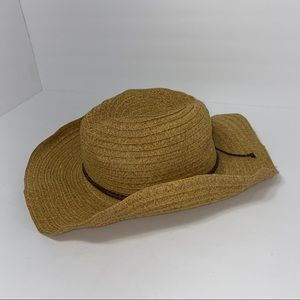 Four Buttons Adjustable (wire) Rimmed Hat-22""